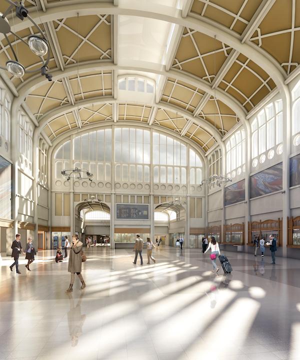 AREP l Gare de Rouen